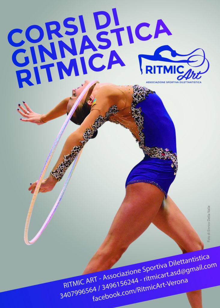Stampa il volantino e contattaci per info sui corsi di ginnastica ritmica di Ritmic Art ASD
